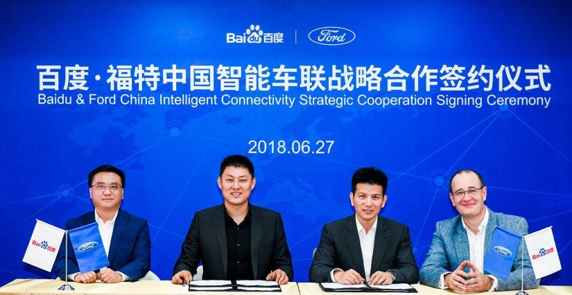 Ford começará testes com carros autônomos em estradas da China