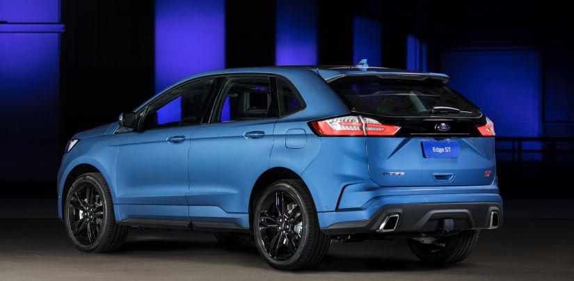 Ford começa a vender Edge ST por R$ 299 mil no Brasil