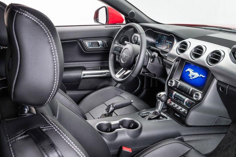 Ford apresenta Mustang 2019 mais equipado