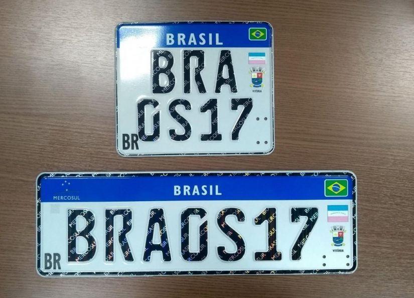 Contran afirma que novas placas do Mercosul entram em vigor em dezembro