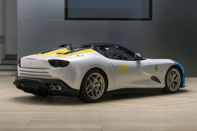 Ferrari mostra edição única e exclusiva da SP3JC