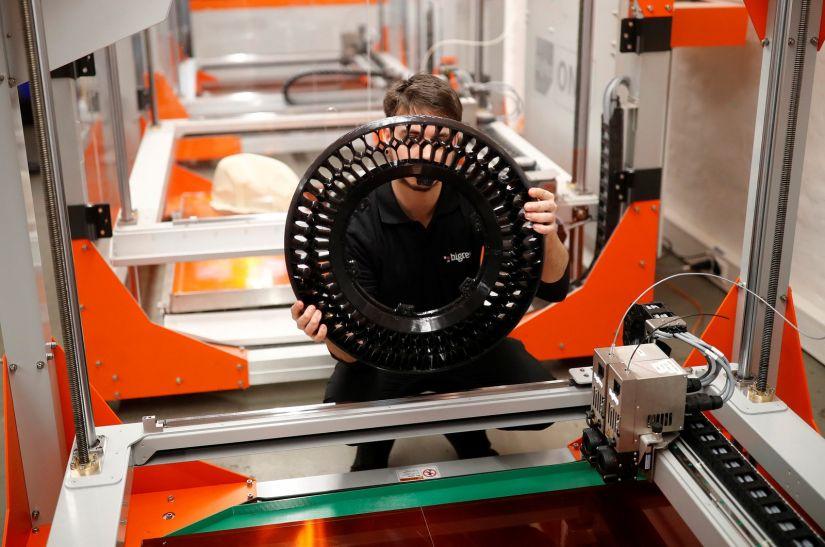 Empresa cria moto em impressora 3D