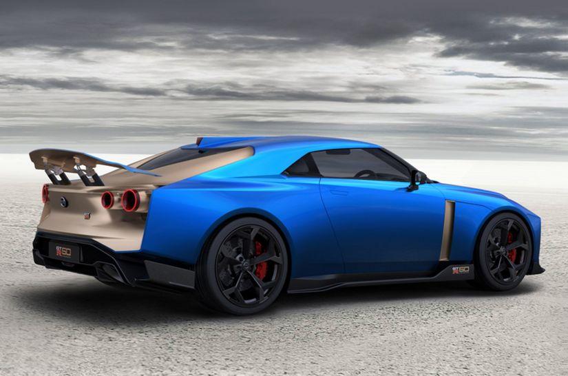 Nissan confirma GT-R50 com produção em edições limitadas