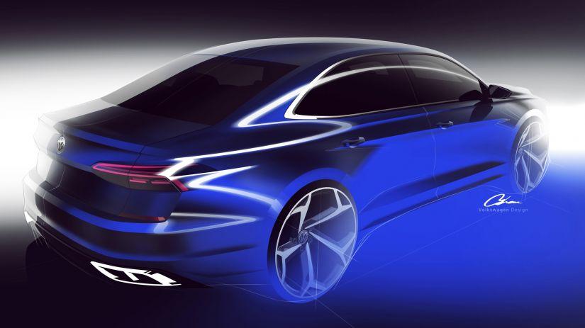 Volkswagen anuncia mudanças para o Passat 2020 nos EUA