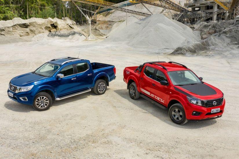 Nissan anuncia nova versão de entrada da Frontier