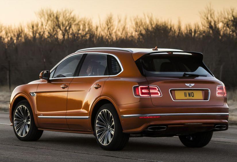 Bentley lança SUV mais rápido do mundo