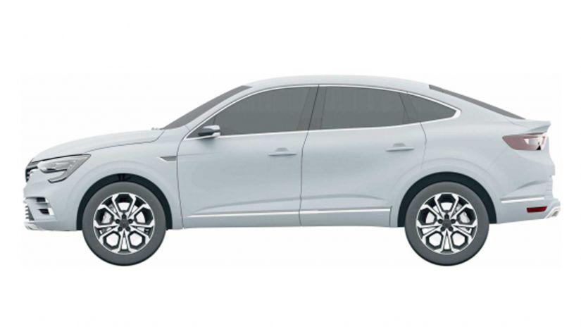 Renault registra desenho do SUV Cupê Arkana no Brasil