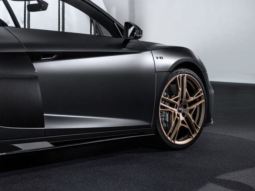 Audi lança edição comemorativa R8 Decennium Celebra com motor V10 - Foto 3