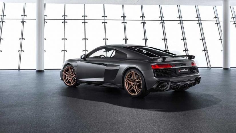 Audi lança edição comemorativa R8 Decennium Celebra com motor V10 - Foto 4