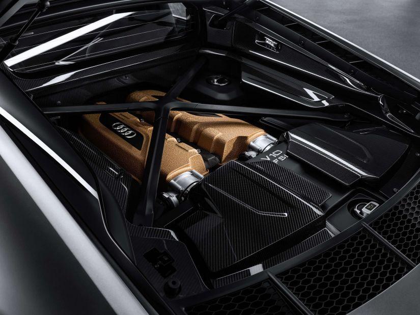 Audi lança edição comemorativa R8 Decennium Celebra com motor V10 - Foto 6