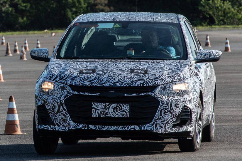 Novo Chevrolet Prisma terá motor inédito turbo - Foto 1