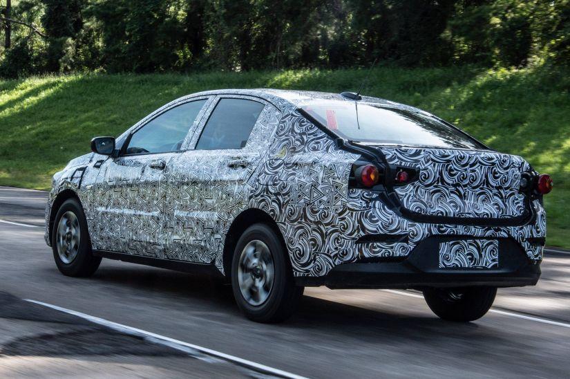 Novo Chevrolet Prisma terá motor inédito turbo - Foto 3
