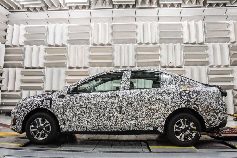 Novo Chevrolet Prisma terá motor inédito turbo - Foto 4