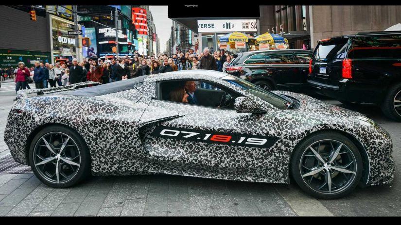 Novo Corvette com motor de 800 CV ganha data de lançamento - Foto 1