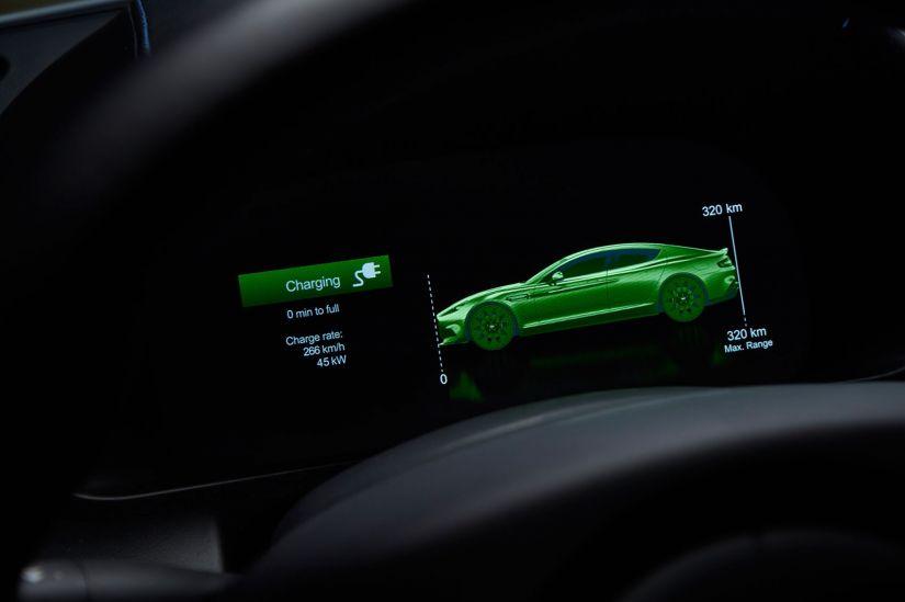 Aston Martin apresenta primeiro carro elétrico da marca - Foto 1