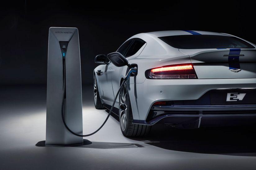Aston Martin apresenta primeiro carro elétrico da marca - Foto 2
