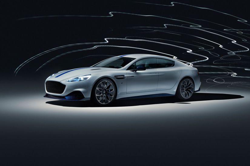 Aston Martin apresenta primeiro carro elétrico da marca - Foto 6