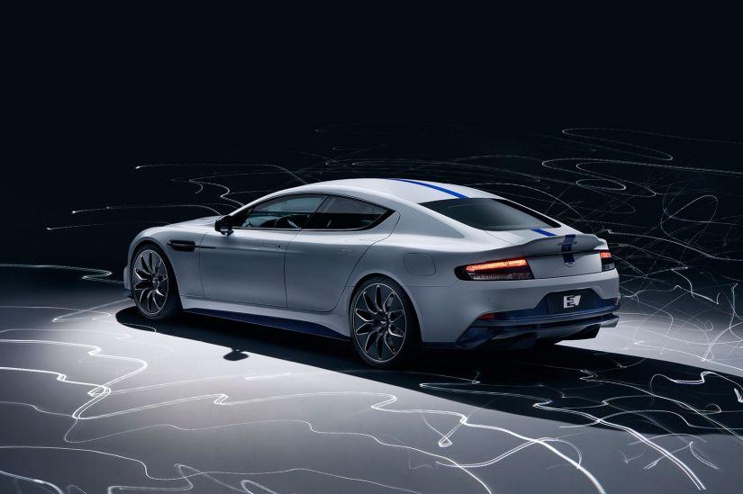 Aston Martin apresenta primeiro carro elétrico da marca - Foto 7