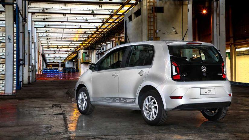 Volkswagen confirma apenas 3 versões para Up! 2020