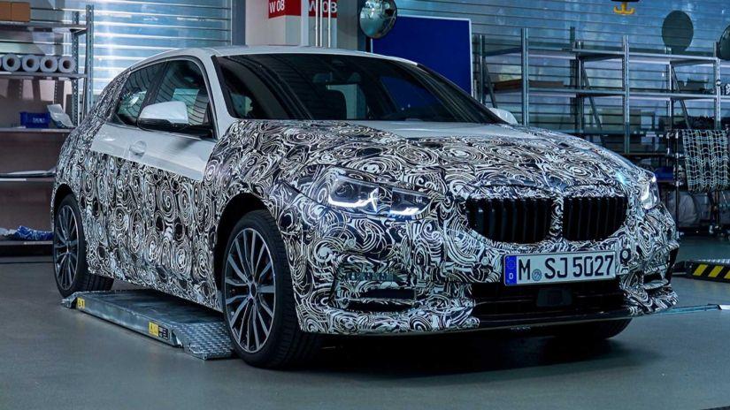BMW revela teaser do novo Série 1 2020 - Foto 2