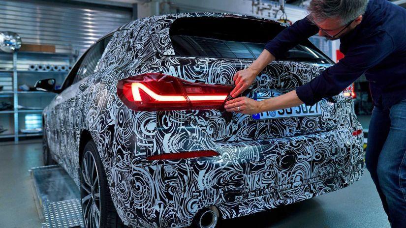 BMW revela teaser do novo Série 1 2020 - Foto 3