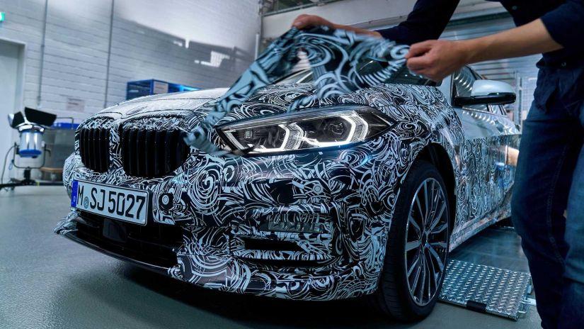 BMW revela teaser do novo Série 1 2020 - Foto 4