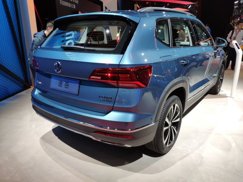 Volkswagen Tarek é flagrado em testes no Brasil