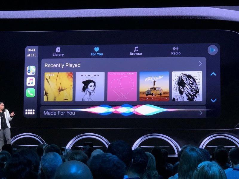 Apple anuncia novo visual e mais recursos para CarPlay