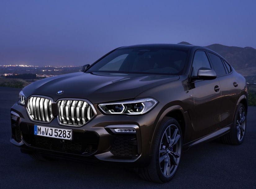 BMW lança nova geração do X6 com grade dianteira iluminada