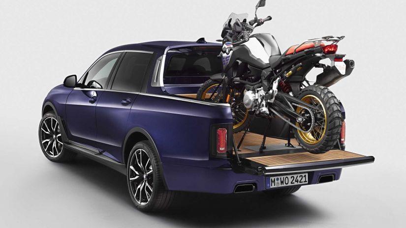 BMW apresenta sua primeira picape  - Foto 3