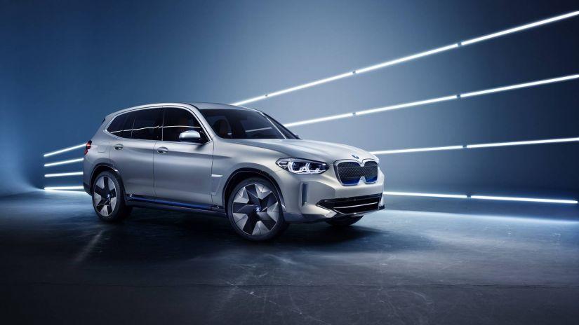 BMW terá SUV elétrico com 300 cv de potência e 400 km de autonomia