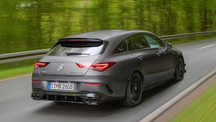 Mercedes-AMG lança perua esportiva CLA 45 Shooting Brake - Foto 2