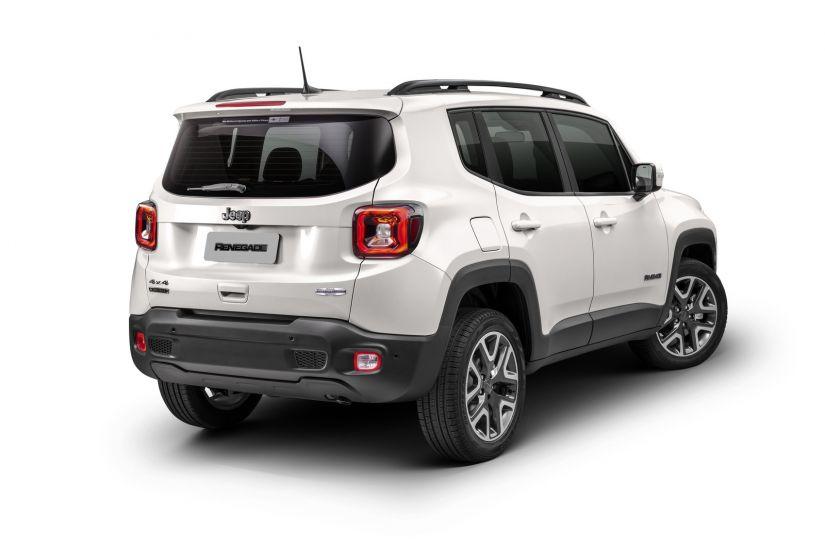 Jeep Renegade 2020 chega sem câmbio manual e custando a partir de R$ 89.990. - Foto 1