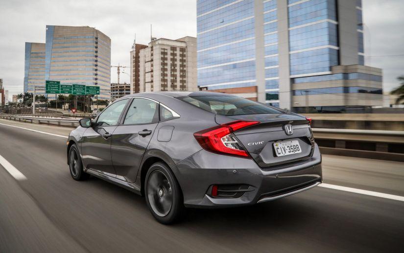 Honda Civic 2020 ganha novo visual e preços partem de R$ 97.900. - Foto 2