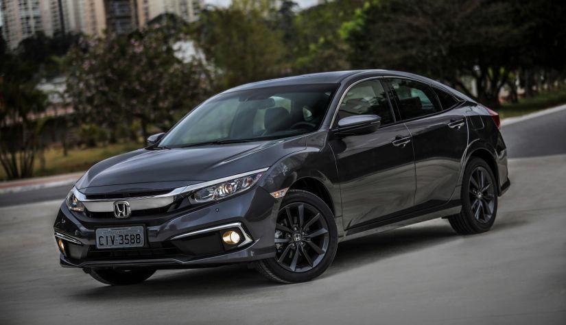 Honda Civic 2020 ganha novo visual e preços partem de R$ 97.900. - Foto 3