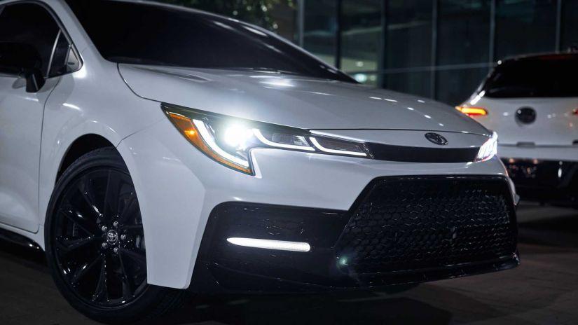 Toyota lança pacote Nightshade Edition para Corolla 2020 nos EUA - Foto 2