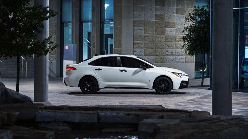 Toyota lança pacote Nightshade Edition para Corolla 2020 nos EUA - Foto 3