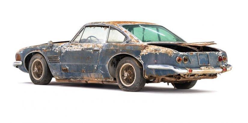 Maserati enferrujada é leiloada por R$ 2,2 milhões - Foto 1