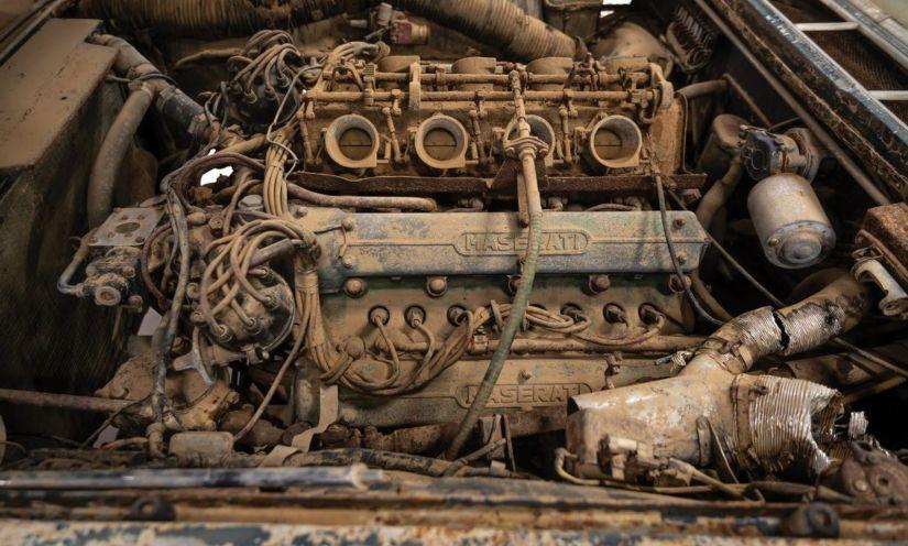Maserati enferrujada é leiloada por R$ 2,2 milhões - Foto 3