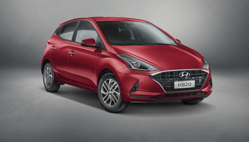 Hyundai divulga primeira imagem do novo HB20S