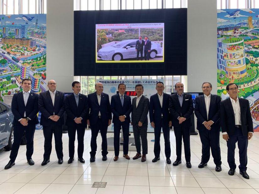 Toyota vai investir R$ 1 bilhão no Brasil para produzir novo carro
