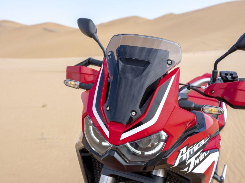 Honda apresenta nova geração do Africa Twin com motor de 1100 - Foto 5