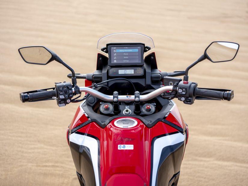 Honda apresenta nova geração do Africa Twin com motor de 1100 - Foto 6