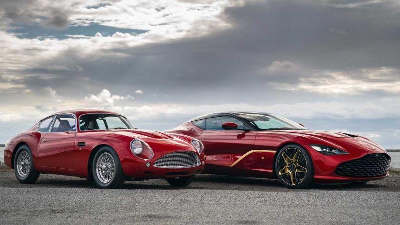 Aston Martin apresenta DBS GT Zagato com 760 cavalos e acabamento de ouro - Foto 3