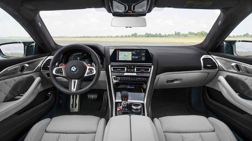 BMW apresenta M8 Gran Coupe com até 625 cv - Foto 6