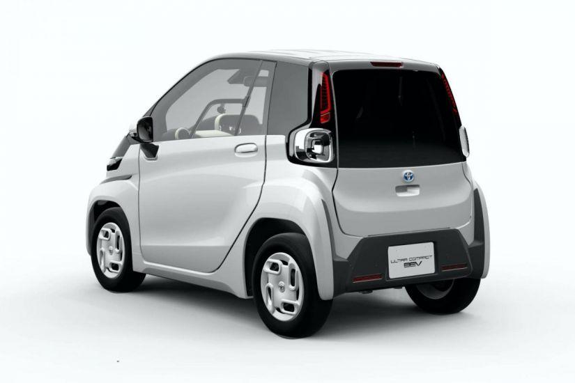 Toyota apresenta minicarro elétrico menor que uma moto
