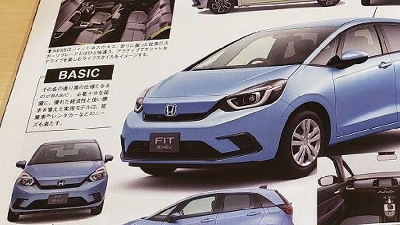 Imagens do novo Honda Fit vazam na internet antes do lançamento