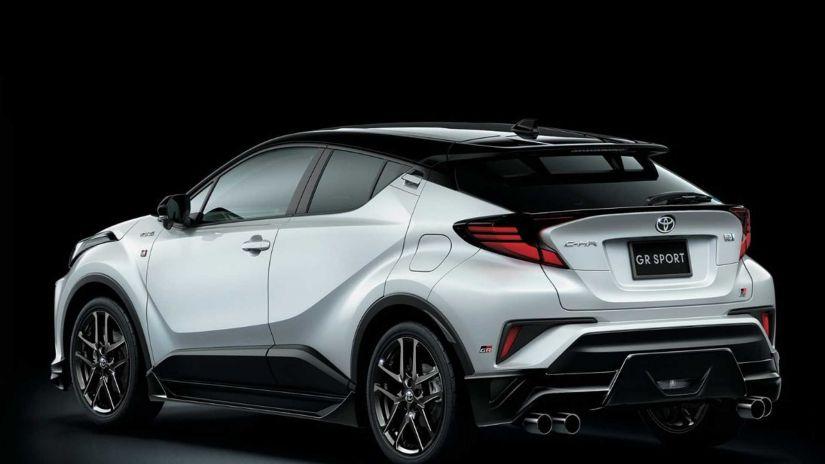 Toyota C-HR aparece com visual diferente e agressivo em projeto especial - Foto 3