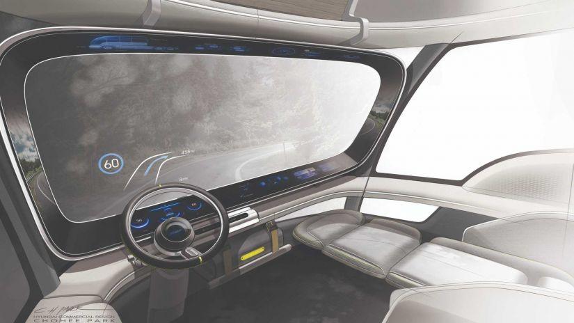 Hyundai terá caminhão de estilo futurista movido a hidrogênio