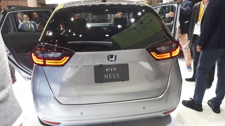 Revelado Novo Honda Fit no Salão de Tóquio - Foto 3